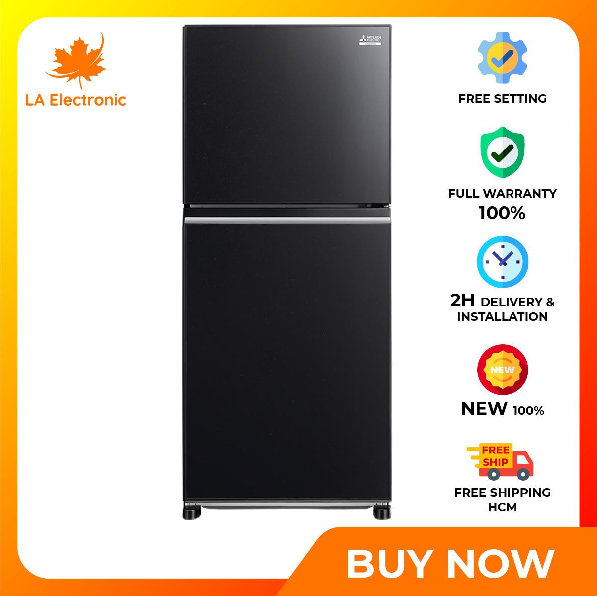 Trả Góp 0% – Tủ Lạnh Mitsubishi Electric Inverter 344 lít MR-FX43EN-GBK-V – Miễn phí vận chuyển HCM