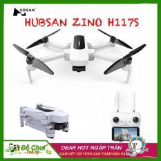 [ COMBO 2 PIN + BALO ] Máy bay Flycam Hubsan Zino H117S ( BẢN CAM VUÔNG ), GPS 5.8G, Gimbal 3 Trục, Camera 4K, FPV 1 KM, Thời gian bay lên đến 23 phút