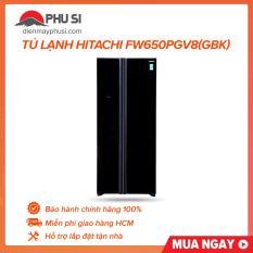 Tủ lạnh HITACHI FW650PGV8(GBK)