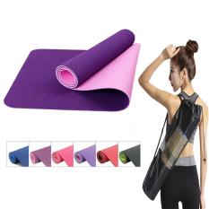Thảm tập gym yoga KUNOSPORT chất liệu TPE 6MM mẫu chọn lọc I Có Tặng kèm túi đựng KN31
