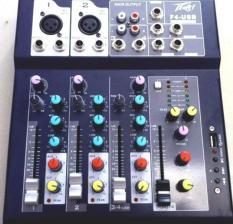 Bộ trộn âm thanh , Mixer bàn mini F4 -USB cho sân khấu nhỏ