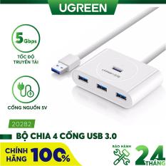 [Nhập ELMAY21 giảm thêm 10% đơn từ 99k] Hub USB 3.0 4 cổng tốc độ 5Gbps dài 50cm UGREEN CR113 20282 – Hãng phân phối chính thức