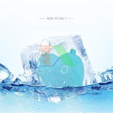Bộ 5 Hộp Đá khô CO2 DK400 400ml giữ lạnh sữa, đồ uống, đồ ăn. Hộp băng khô dạng gel cho quạt điều hòa, du lịch, phượt