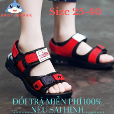 Giày Sandal nam dép sandal cho bé trai mùa hè chống trượt phiên bản Hàn Quốc