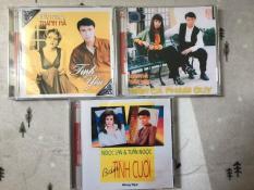 Combo 3 CD Tuấn Ngọc và các nữ ca sĩ Thanh Hà – Khánh Hà – Ngọc Lan