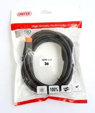 Cáp HDMI (4K Ultra HD và 3D) Unitek Y-C139M dài 3m