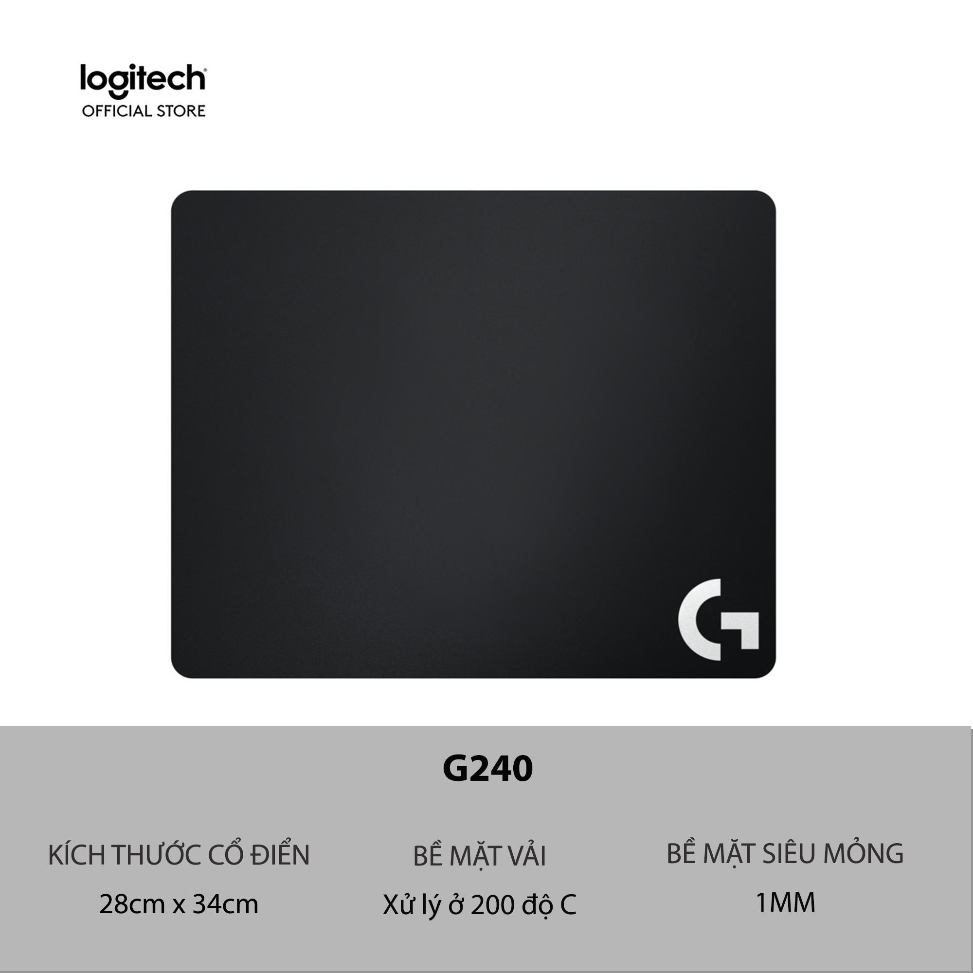 Bàn di chuột chơi game Logitech G240 - Mousepad mềm