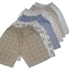 Quần short nam, Quần đùi nam, COMBO 5 quần short nam vải cotton, co giãn tốt, quần đùi nam mặc ở nhà có size từ 45 -80kg.