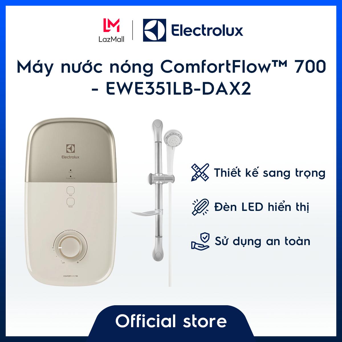 [Miễn phí giao hàng – HCM & HN] Máy tắm nước nóng EWE351LB-DAX2 – Vàng đồng – Bình chứa độc đáo giữ nhiệt độ ổn định- Nhiều tính năng an toàn