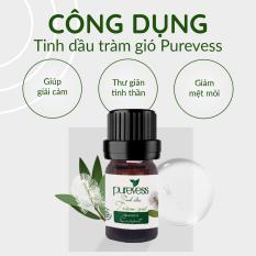 Tinh dầu xông phòng Purevess – tinh dầu đuổi muỗi – tinh dầu thiên nhiên. Dung tích: 5ml