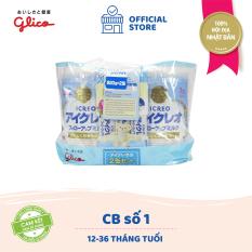 [TẶNG COMBO 12 MIẾNG TÃ PAMPERS 120K – ĐƠN 399K] CB Glico Icreo Follow up Milk số 1 gồm 2 hộp 820g & 5 thanh sữa tiện dụng (5 thanh x 13.6g) – 100% nội địa Nhật Bản – HSD tối thiểu 10 tháng