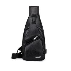 Túi đeo chéo nam nữ VARADO TX001 đeo ngực nam da cao cấp cổng sạc BH 44 thời trang sành điệu
