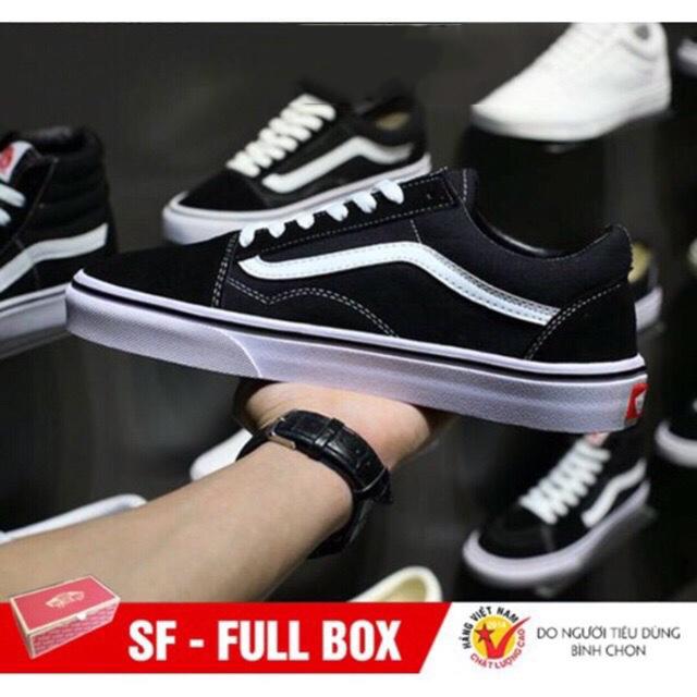 [Tặng Hộp] Giày VANS-OLD SKOOL nam nữ hàng VNXK bảo hành 12 tháng lỗi được đổi SP mới – Giày Vans-Old Skool Unisex – Giày Cùng Form Giày Converse