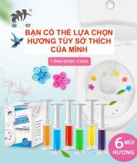 [Hot] Gel Tẩy Rửa và Tạo Mùi Hương Bồn Cầu Supper Fresh, Gel Làm Sạch Khử Mùi Toilet 99% – (1 ống 9 hoa) Giao Mùi Ngẫu Nhiên