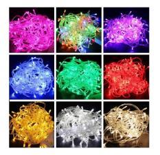 Đèn led không chớp nhiều màu sắc – 5m siêu tiết kiệm trang trí giáng sinh, cây thông, tết, quán cà phê…
