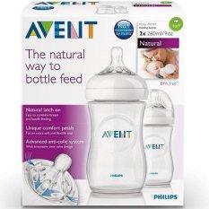 Bình sữa Avent Natural 125ml -260ml ( Được tùy chọn núm)