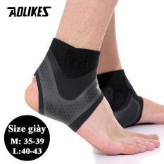 Bộ 2 đai quấn bảo vệ mắt cá chân chống lật cổ chân khi chơi thể thao Sport ankle pads AOLIKES A-7130