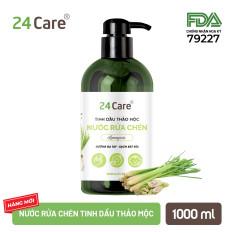 Homecare 24Care 1L [nước lau sàn, nước rửa chén, nước rửa tay] cho bé từ 2 tuổi – thành phần 100% tinh dầu thảo mộc
