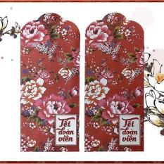 100 Bao Lì xì 2019 mẫu Vintage Hoa Cỏ đẹp giá sỉ