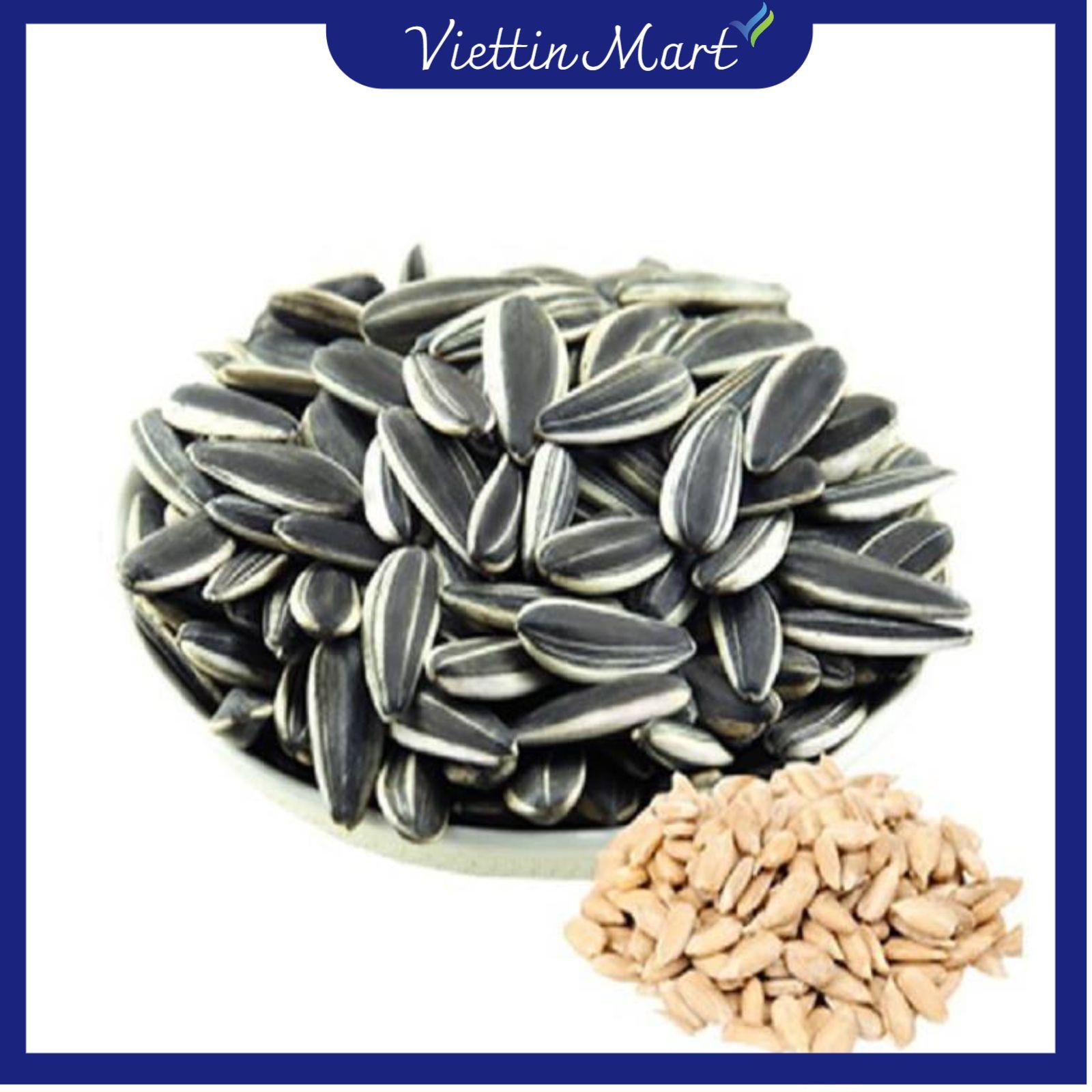 500g Hạt hướng dương - Viettin Mart, là một nguồn giàu kẽm, một ounce (tương đương 28g) hạt chứa hơn...