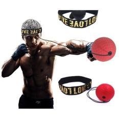 Bóng đấm Boxing tập phản xạ đeo đầu
