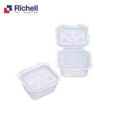 Bộ Hộp Trữ Thức Ăn Dặm Richell (6 Hộp -150ML) RC98108- Chất Liệu Nhựa PP Cao Cấp, Không Chứa BPA An Toàn Cho Bé