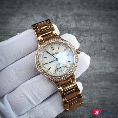 Đồng hồ nữ dây thép GUOU đính đá CH271 – Smart247