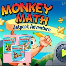 Combo Monkey Math gói 1 năm + Sách bài tâp bổ trợ – Toán tiếng Anh chuẩn Mỹ cho bé từ 3 đến 7 tuổi