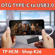 Cáp Chuyển Đổi OTG Type C Sang USB3.0/2.0
