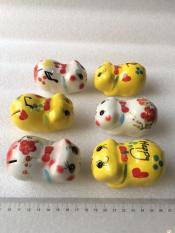 lợn sứ tiết kiệm trang trí để bàn học tinh tế (8x6x5cm- nhiều màu tinh tế) model:007F