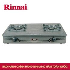 Bếp Gas Đôi 7 Tấc Rinnai RV-370GM, Chén Gang Đúc
