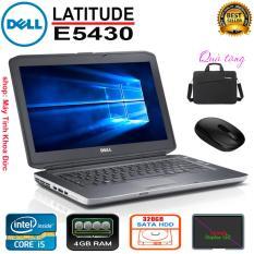 Laptop Dell Latitude E5430 Core i5-3320M, 4gb Ram, 320gb HDD, 14inch HD, Tặng túi, chuột không dây