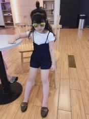 [ Kho buôn ]Hàng Quảng Châu xuất Hàn chuẩn xịn, set áo quần yếm cho bé gái, bộ đồ bé gái, váy đầm bé gái