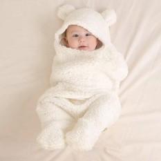 Chăn quần lông cừu ủ kén Baby Blanket hình thú cao cấp cho bé yêu có thể dùng kèm với nôi em bé, khăn ủ kén nâng niu bảo vệ sức khỏe con yêu