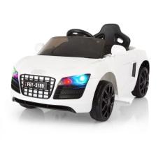 Ô tô xe điện đồ chơi AUDI FEY-5189 vận động cho bé tự lái và điều khiển từ xa (Trắng-Xanh-Hồng-Đỏ)
