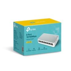 [Lấy mã giảm thêm 10%]Switch TP-Link TL-SF1008D 8-Port 10/100Mbps Desktop Switch
