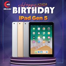 Máy tính bảng iPad Gen 5 New ( Chưa Active) Chip A 9 2 Nhân Ram 2 Gb, Pin 8600 mAh tought id tặng Bao da phụ kiện phù hợp cho nhu cầu làm việc hiệu suất cao học online giải trí game online Bảo hành 12 tháng MR CAU