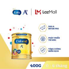 Sữa bột Enfamil A+ 1 cho trẻ từ 0-6 tháng tuổi (400g) – Cam kết HSD còn ít nhất 10 tháng