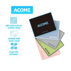 [Bảo Hành 12 Tháng]ACOME AMP01 Miếng Lót Chuột Kích Thước 22 x 18 cm Chất Liệu Vải + Cao Su – Hàng Chính Hãng
