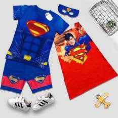 Bộ lửng 3D superman cơ bắp bé trai LV3