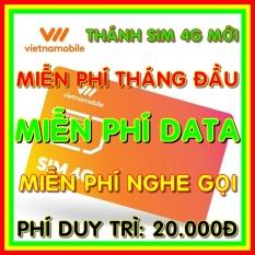 Thánh Sim 4G Vietnamobile Mới – Miễn phí DATA không giới hạn + Nghe Gọi Nội Mạng Miễn Phí – Phí gia hạn 20.000đ – Thánh sim 4G mới – Shop Sim Giá Rẻ