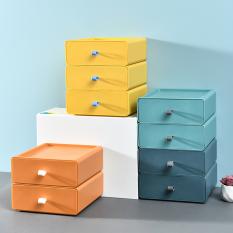 Hộp đựng đồ để bàn có ngăn kéo, hộp đựng đồ dùng trên bàn trong văn phòng, giá đựng đồ nhiều tầng, hộp đựng đồ lặt vặt