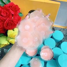 Hộp 10 miếng (5 cặp) dán ngực silicon hình hoa cao cấp – miếng dán nhũ hoa – miếng dán ti – phụ kiện đồ ngủ đồ lót – áo ngực dán – HIN Fashion P04