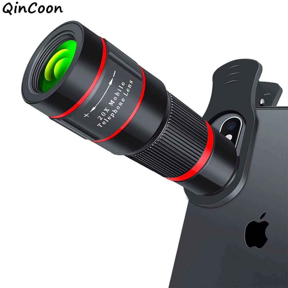 Ống nhòm Len Mobile Phone 20X , Ống Kính Camera Cho Iphone Samsung Xiaomi Universal Oppo Giúp Bạn Chụp Cảnh Vật Ở Xa Rõ Ràng Sắc Nét.