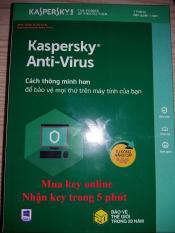 Phần mềm Kaspersky Anti-virut 2019/3PC/ 365