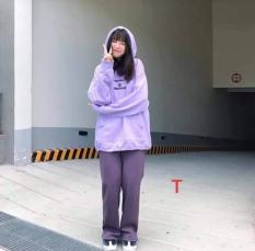Áo Hoodie Nam Nữ Tím Form Rộng Uncover Phong Cách