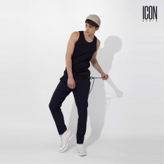 ICON DENIM – Áo Thun Ba Lỗ Nam Cotton Co Giãn Active Elastic Fabric