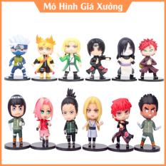 ( Có Lẻ ) Mô Hình 12 Nhân Vật Naruto – Hokage Làng LÁ Jinchuriki Cửu Vĩ Shippuuden – Tượng Figure Naruto