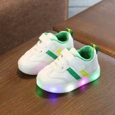 Giày thể thao cho bé có đèn 2 sọc