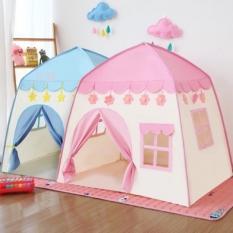 Lều công chúa lều hoàng tử hình tứ giác cho bé